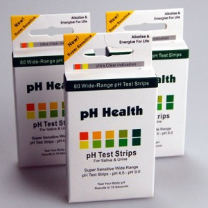 ph test strips urine saliva