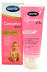 Conceive Plus fertility lubricant