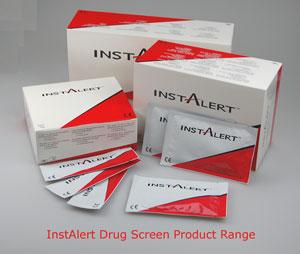 Instalert professional drug testing kits